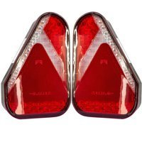Set: 2x rear trailer light unit Aspöck Earpoint LED 5-pin - LEFT AND RIGHT