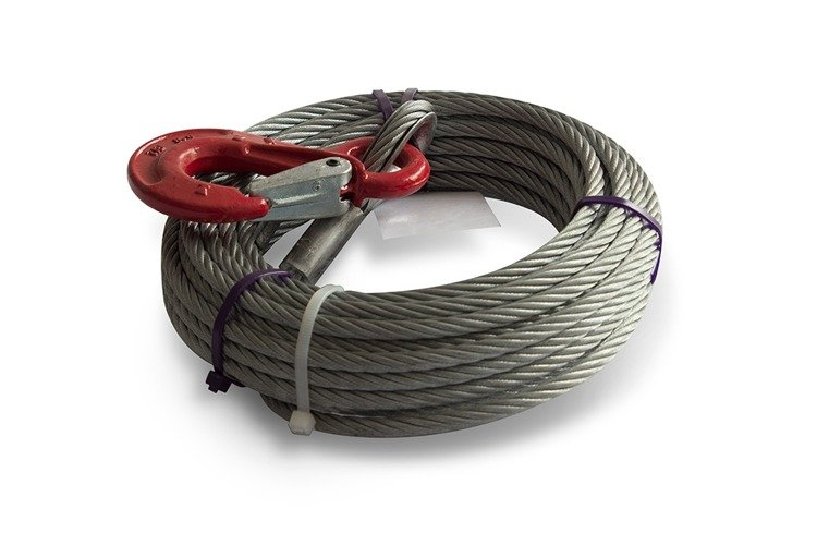 Al Ko Cable For Winch 900 Basic And 901 Plus 900 Kg 12 5 M