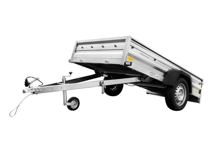 Domestic car trailer Garden Trailer 236 - 236x125 cm