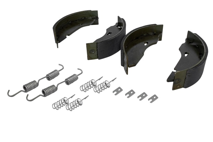 1 AXLE SET of AL-KO 160x35 mm UNITRAILER BRAKE SHOES for TRAILERS ALKO