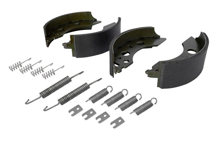 1 AXLE SET of AL-KO 200x50 mm BRAKE SHOES Type 2050 / 2051 TRAILER ALKO