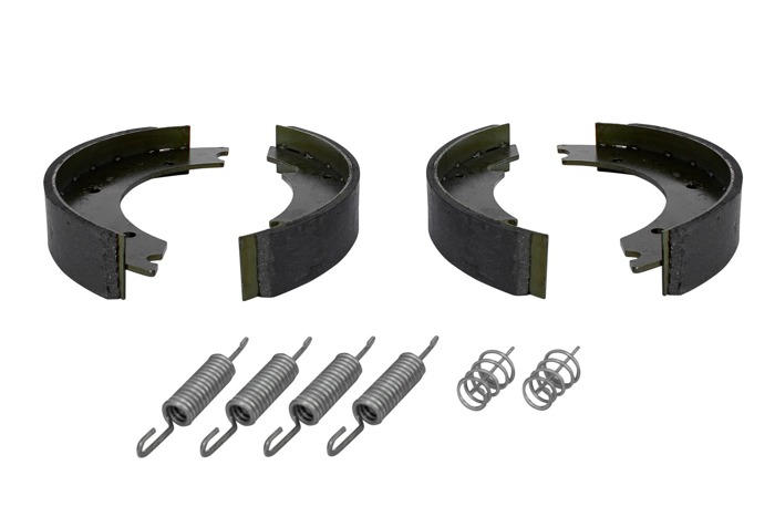 1 AXLE SET of KNOTT 250x40 mm UNITRAILER BRAKE SHOES for TRAILERS