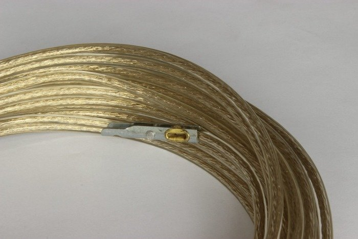 16 metre TIR Cable 6 mm - PVC coated wire / galvanised steel