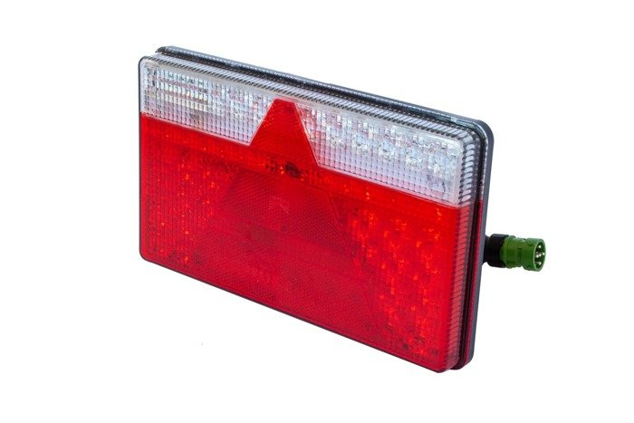 5-pin rear trailer light Aspöck Multiled II LED - LEFT