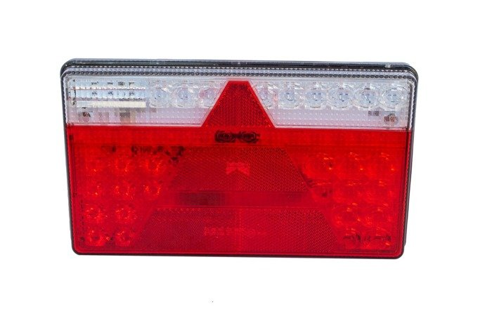 5-pin rear trailer light Aspöck Multiled II LED - RIGHT