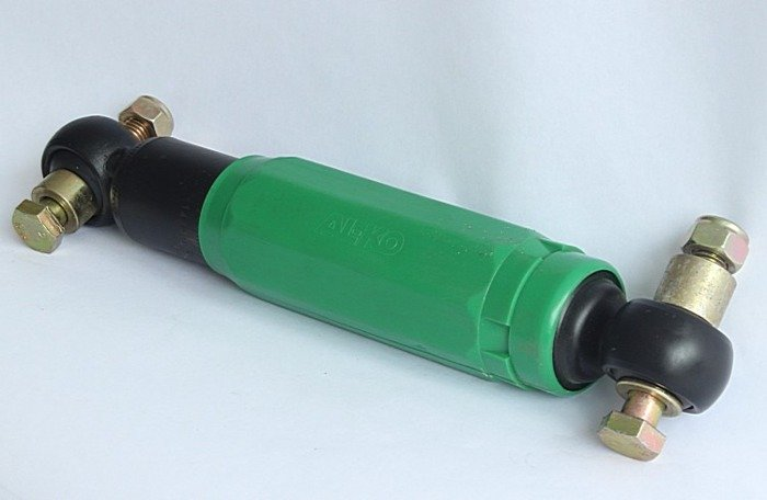 AL-KO SHOCK ABSORBERS KIT x2 for trailers OCTAGON GREEN 900-1600 kg / Pair