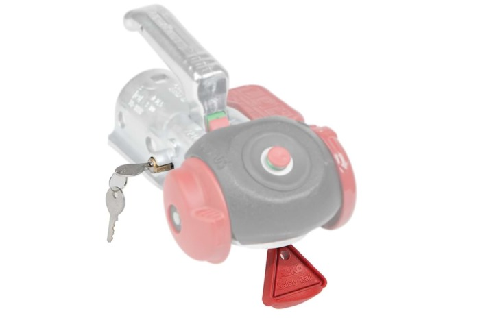 AL-KO hitch lock and safety ball for AK161 / AK270