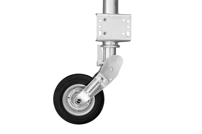 Automatic jockey wheel for trailers - 60 mm