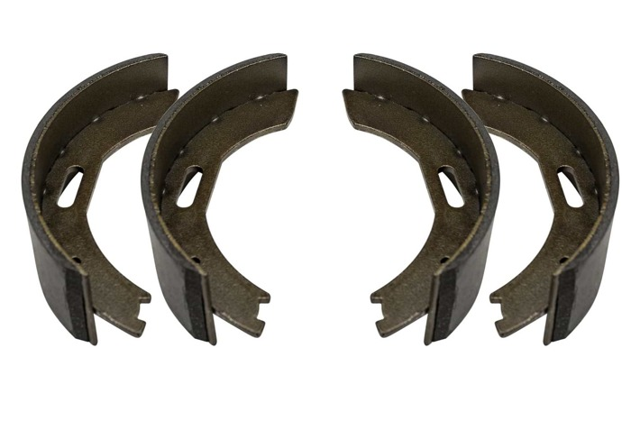 BPW brake shoes 200x500 with a full set of springs
