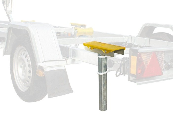 Boat trailer support pad - PZ1 H =300 mm