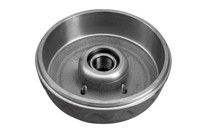Brake drum with bearing KNOTT 200x50 4x98