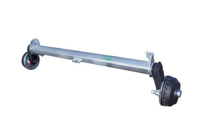 Braked axle for trailers AL-KO 1300 mm 1350 kg 5x112