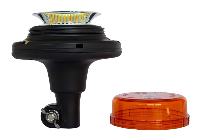 Bright orange flashing beacon LED light 401