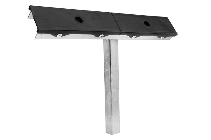 Double boat trailer support pad - PZ2 H = 400 mm