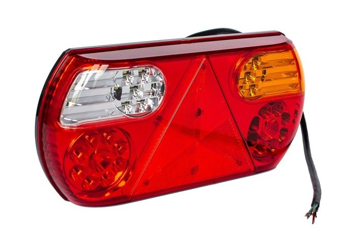 Fabrilcar by Aspöck tail lamp LED 6-functions - LEFT HAND L/H