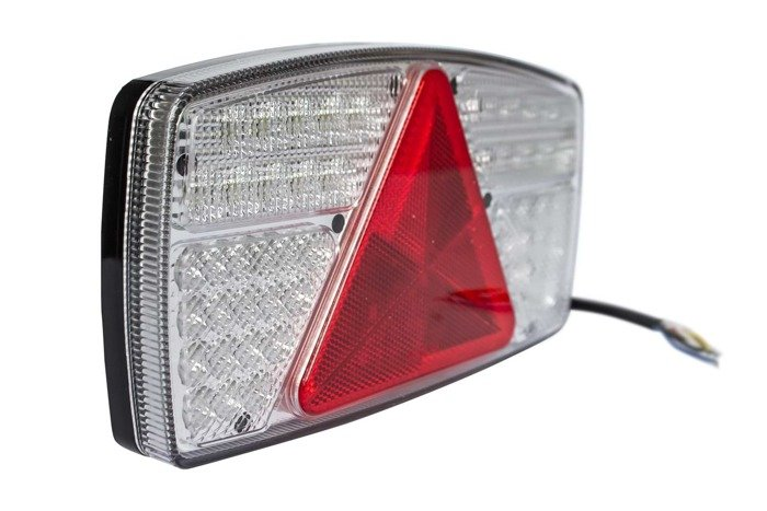 Fabrilcar by Aspöck tail lamp LED 7-functions LEFT HAND L/H