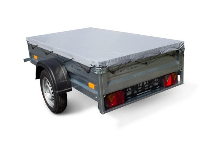 Flat cover 200 × 106 Unit trailer for trailer Garden Trailer 200