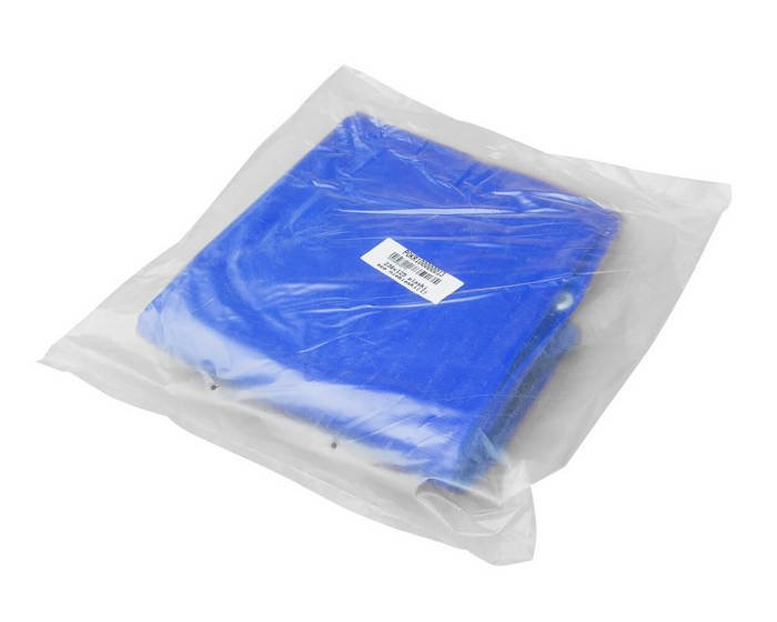 Flat tarpaulin for Garden Trailer 236 - blue