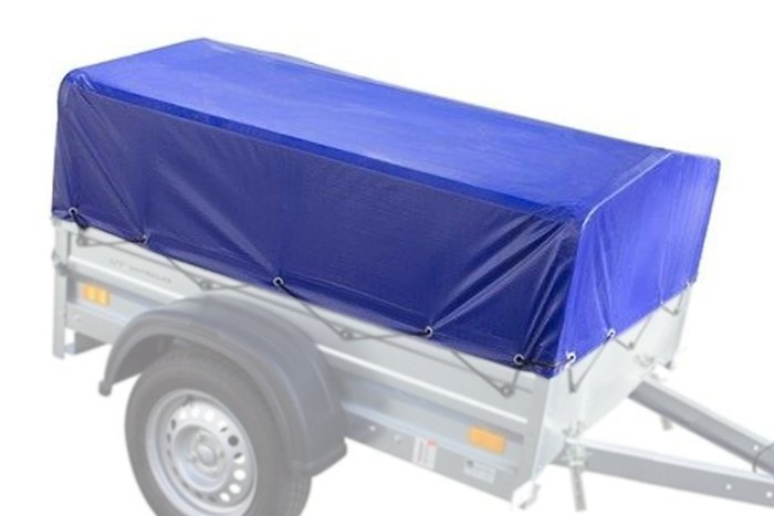 Frame with high tarpaulin cover for Garden Trailer 150