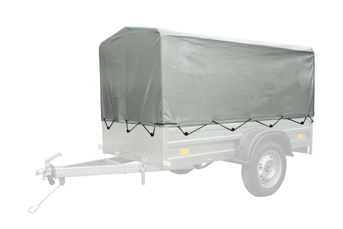 Frame with high tarpaulin cover for Garden Trailer 200