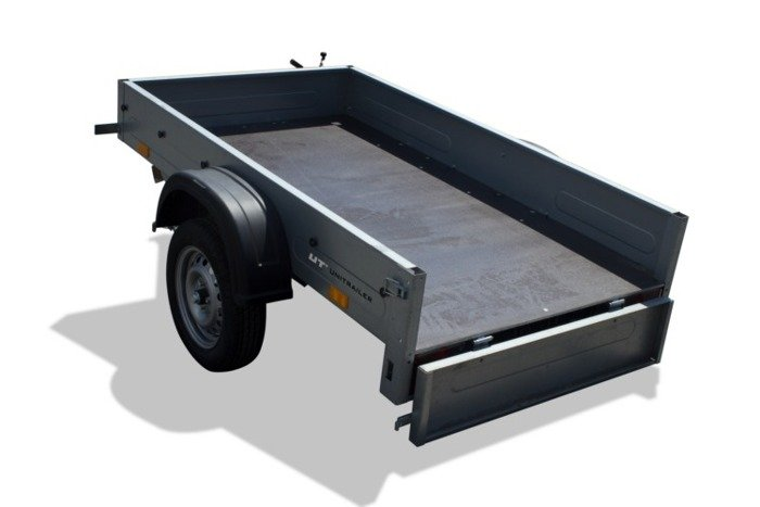 Frame with high tarpaulin cover for Home Trailer 200
