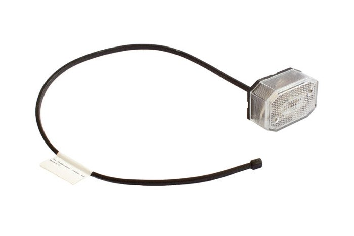 Front position lamp for trailers - Aspöck Flexipoint white 0,5m/12V