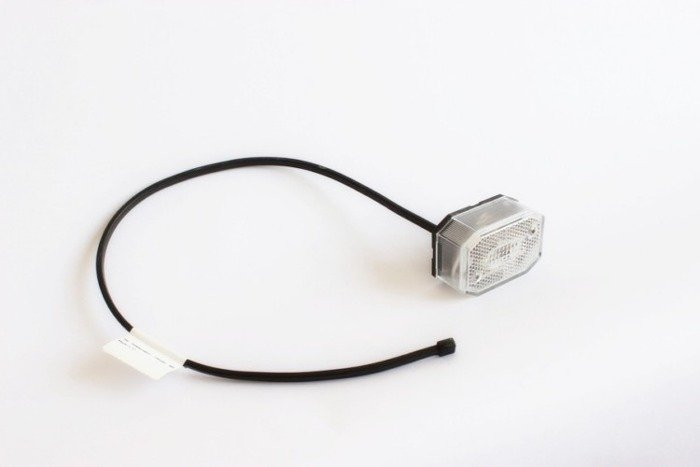 Front position lamp for trailers - Aspöck Flexipoint white 0.5m/12V
