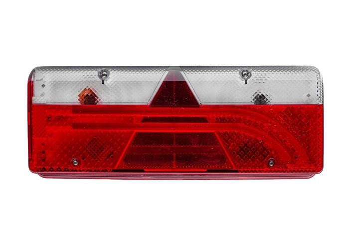 Left trailer tail light Aspöck EUROPOINT III 12V for trailers