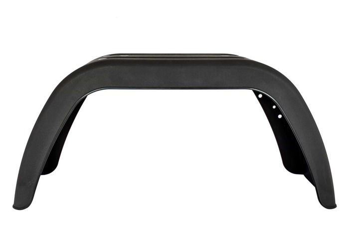 Mudguard with mounting holes DOMAR 13''