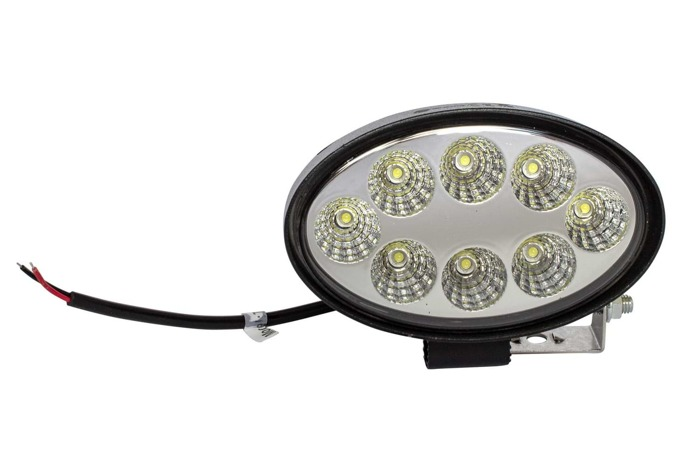 Oval LED lamp 1900 Lm (8 LED diodes)