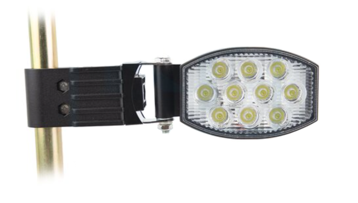 Oval side lamp 10 LED 30W