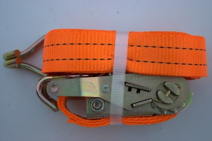 Ratchet strap for trailers 6 m/35 mm/2 t