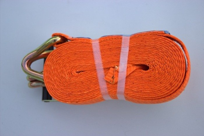 Ratchet strap for trailers 8 m/35 mm/5 t