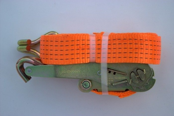 Ratchet strap for trailers 8m/50mm/5t