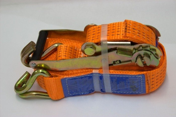Ratchet straps with buckle x4 for trailers 10 m/50 mm/4 t - 4 pcs