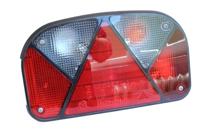 Right rear combination lamp Multipoint II Aspöck for trailers