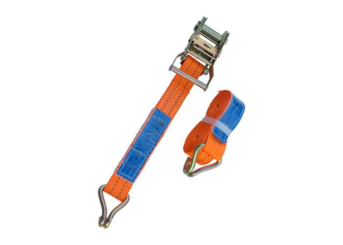 SET of 4 RATCHET TIE DOWN STRAP - 4M / 35 mm / 2T 2000 KG HEAVY DUTY CARGO TRUCK