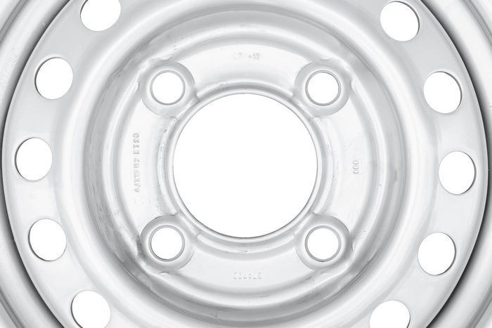 "STARCO trailer wheel rim 13"" 4x130 with central mounting hole diameter of 85 mm"