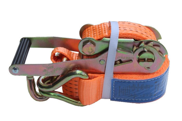 Set: 4 car trailer lashing straps - 4m/50 mm/5 t