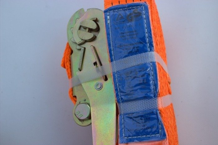 Set: 4 ratchet lashing straps for trailers - 8m/50mm/5T