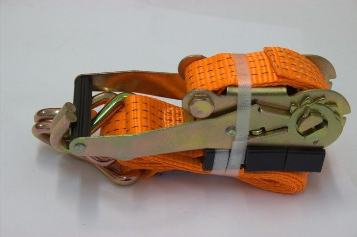 Set: 4 trailer lashing straps - 3m/50 mm/4T