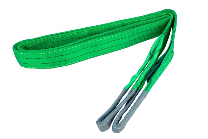 Set: 4 webbing sling 2T/2M 60MM with 2 eyes