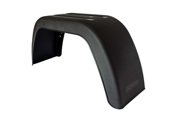 "Set of 2 DOMAR mudguards 13"" with mounting holes for trailers"