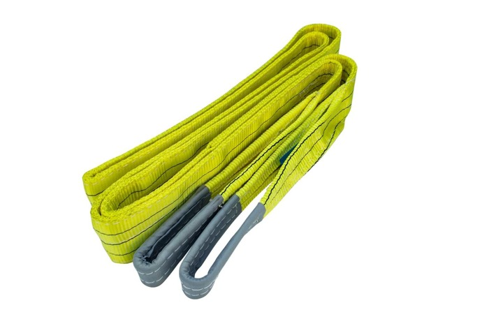 Set of 4 polyester web slings 3T/4M/90MM UNITRAILER