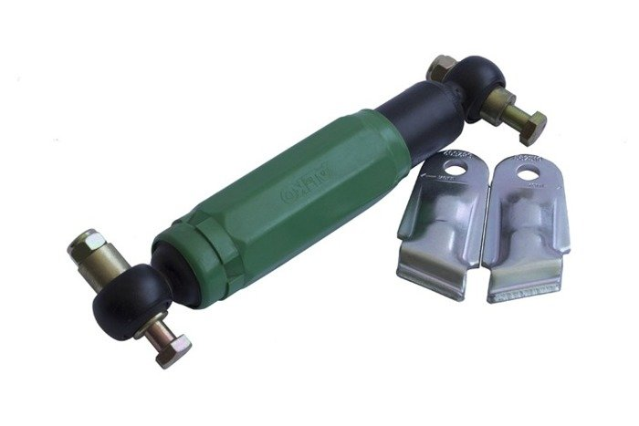 Shock absorber 2 holders for trailer AL-KO Octagon Green 900 - 1600 kg