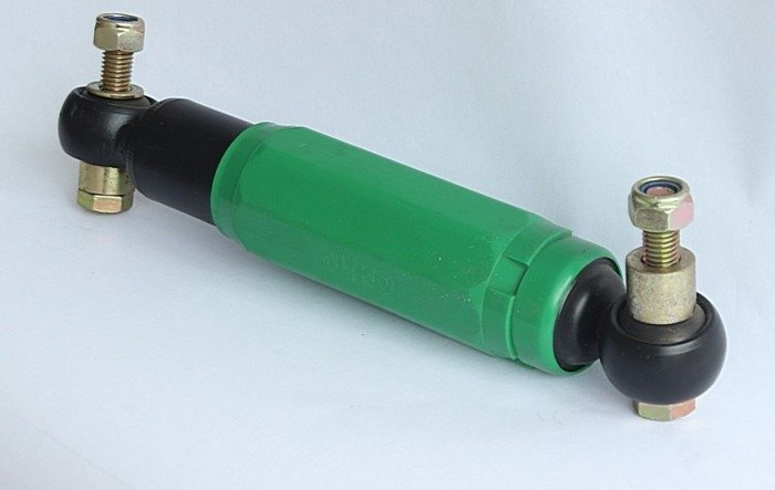 Shock absorber with 2 mounting plates AL-KO Octagon Green 900 - 1600 kg