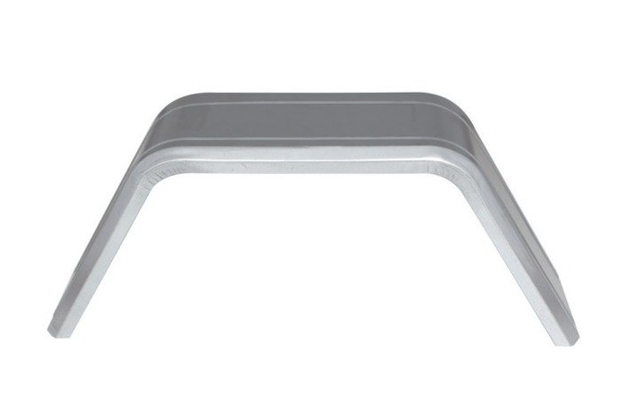 "Single 14"" Wheel METAL / GALVANIZED STEEL MUDGUARD for TRAILERS - UNITRAILER"