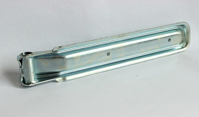 Tailgate hinge for trailers BSCH 10-320 with a hinge connector BSCHG 10-A - Winterhoff