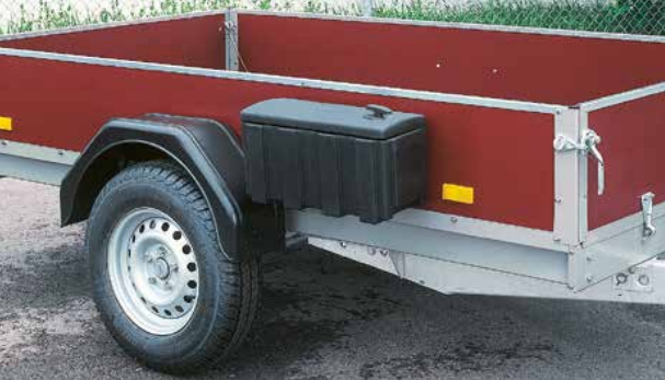 Toolbox for trailers - AL-KO - 515x220x277