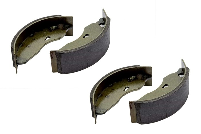 Trailer brake shoes for trailer axle made by AL-KO 160x40 with a full set of springs
